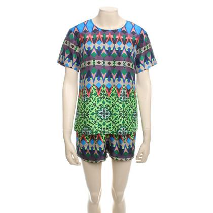 J. Crew Silk & Shorts Print