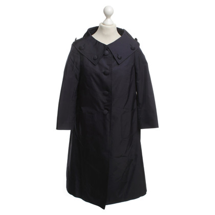 Escada Dark blue trenchcoat