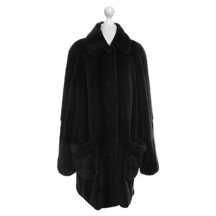 Basler Sheared mink coat