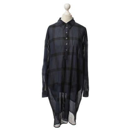 Marc Cain Blouses dress with Plaid