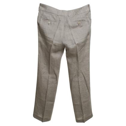 Bogner Linnen broek in heathered grijs