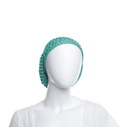 Missoni Basque cap in green