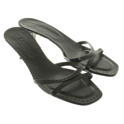 Jil Sander Slippers in black