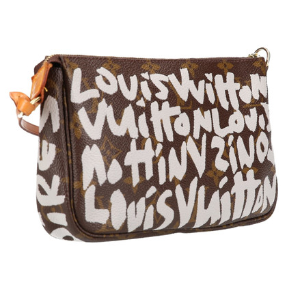 "Louis Vuitton ""Pochette Accessories Monogram Graffiti"""