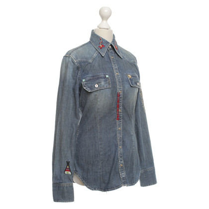 Dsquared2 Jeans blouse in used look