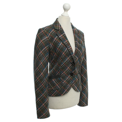 IQ Berlin Checked blazer