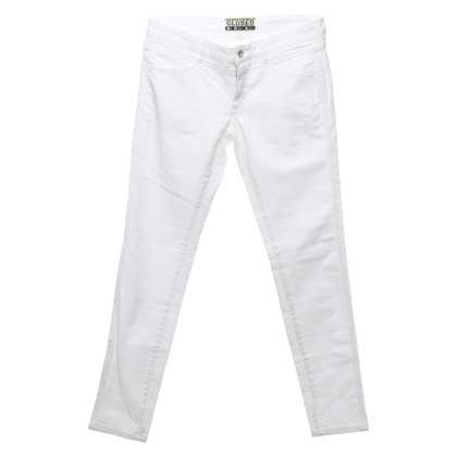 """Closed Jeans """"Pedal Star"""" in het wit"""