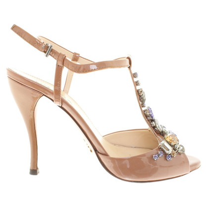 Prada Sandals in Nude