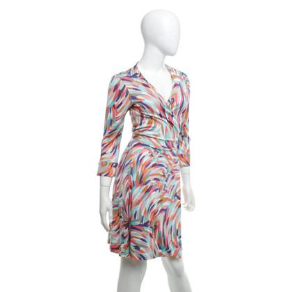 "Diane von Furstenberg Wrap dress ""Julian"" in multicolor"