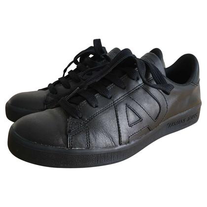 Armani Jeans Schwarze Sneakers