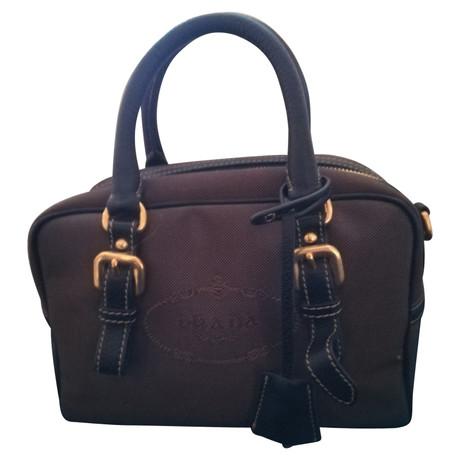 Prada Handtasche Braun Finden Online-Großen Verkauf Rabatt Echte wmme1JnL6