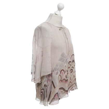 Barbara Bui Silk blouse with floral print