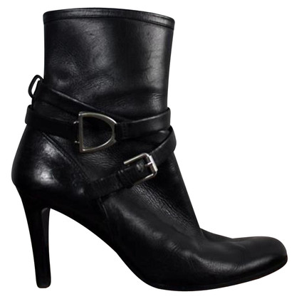 Ralph Lauren Black ancle boots