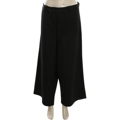 Yohji Yamamoto trousers in black