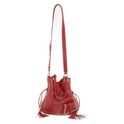 """Lancel Handbag """"Flirt"""" in red"""