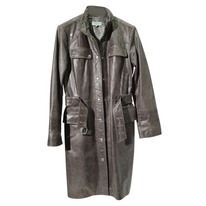 Doma Leather coat