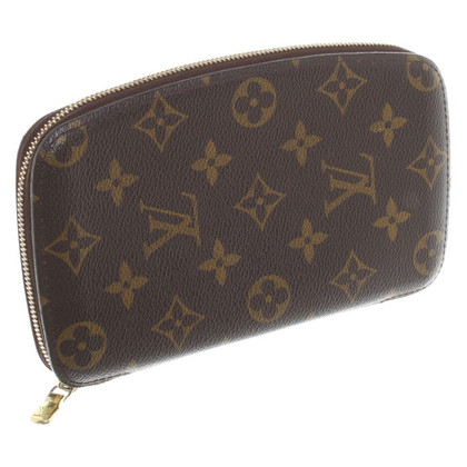 Louis Vuitton Travel Wallet Monogram Canvas