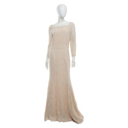 Diane von Furstenberg Kanten jurk in nude