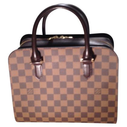 Louis Vuitton Handbag Damier Ebene Canvas