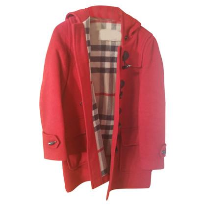 Burberry Dufflecoat in Rot