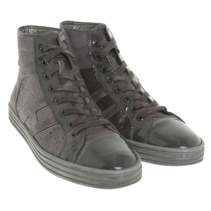 Hogan High top sneakers with sequins