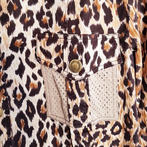 dolce gabbana shirt mit leo muster - Leo Muster