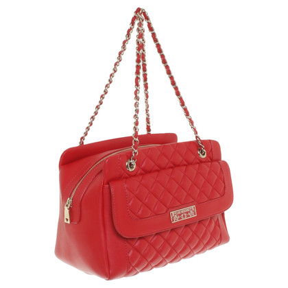 Moschino Love Handbag in red