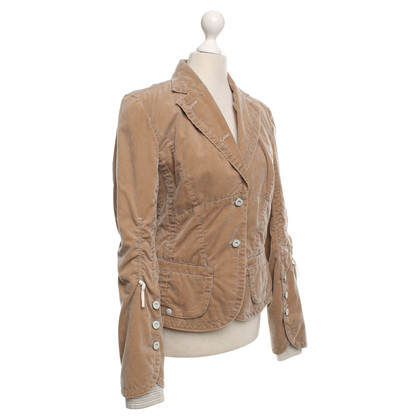 Marc Cain Cord blazer in light brown