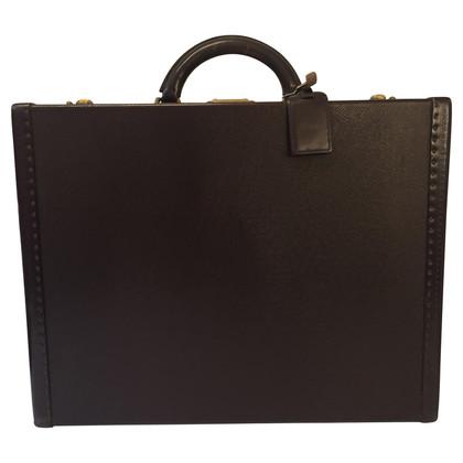 Louis Vuitton Taiga briefcase in brown