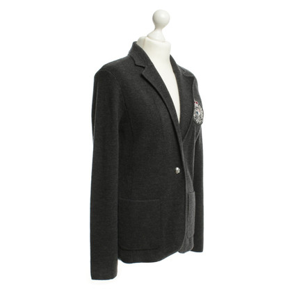 Ralph Lauren Anthrazitfarbener Wollblazer