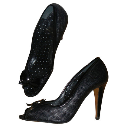 Moschino Cheap and Chic Peep-toes in black