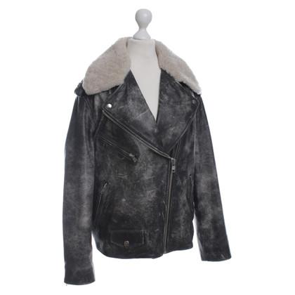 Isabel Marant Etoile Vintage style leather jacket