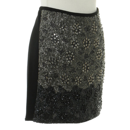 Hoss Intropia skirt with sequins
