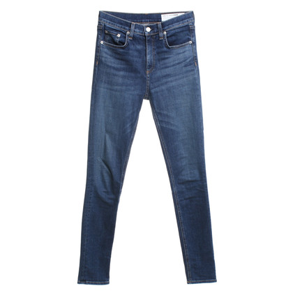 Rag & Bone Skinny Jeans in Blauw