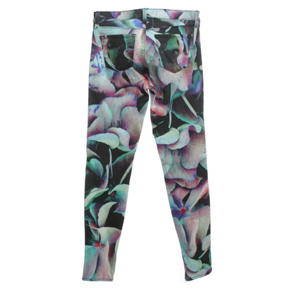 J Brand Jeans with colorful pattern