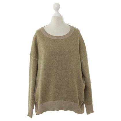 By Malene Birger Sweater with gold thread