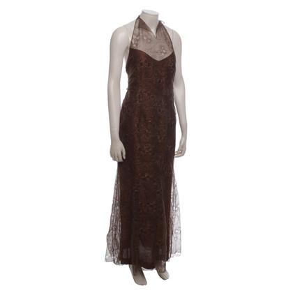 Chanel Abendkleid mit Muster