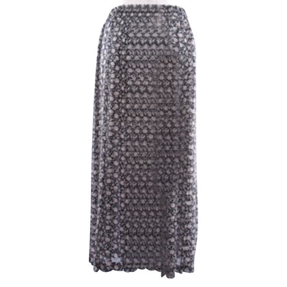 Windsor Silk skirt with pattern