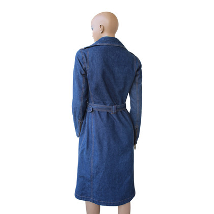 D&G Lang denim gewatteerde voering jas