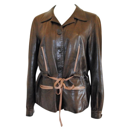 Céline Brown leather jacket