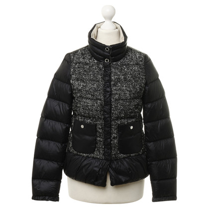 Patrizia Pepe Quilted Jacket with material mix