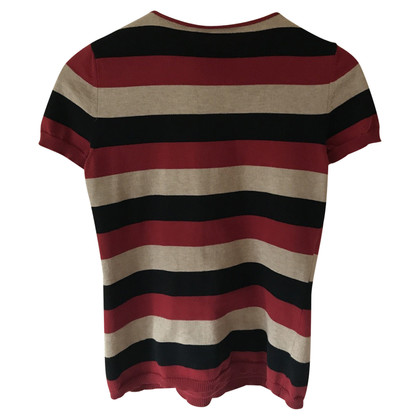 Moschino Sweater with stripes pattern