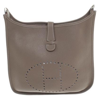 "Hermès ""Evelyne Bag"" in Khaki"