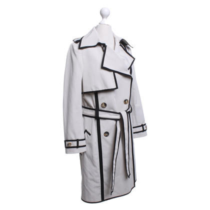 Lanvin Trenchcoat in beige / black