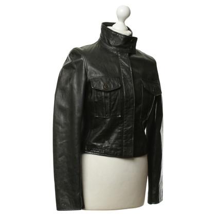 Belstaff Leren jas in zwart