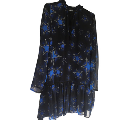 Just Cavalli Blue Star Print Dress