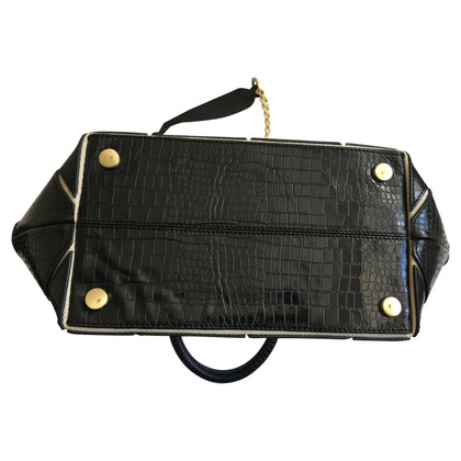 Reiss borsa in pelle nera