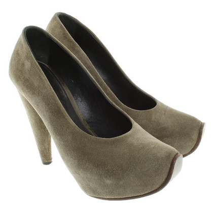 Acne pumps Suede