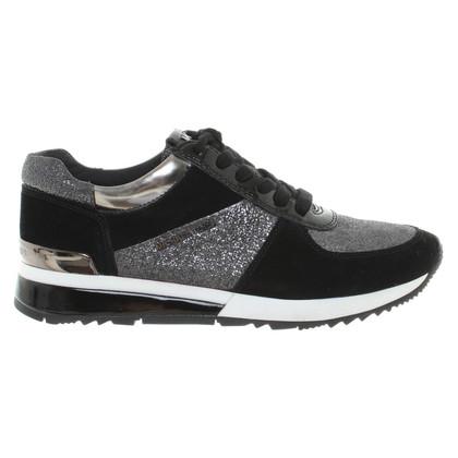 Michael Kors Sneakers in Nero / Bianco