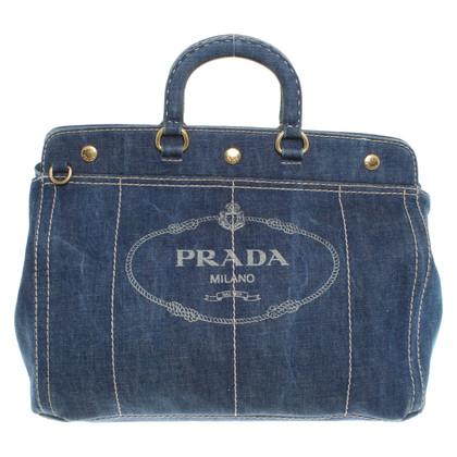 Prada Handtas gemaakt van denim